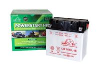 Leoch YB16CLB - Dry Charged Motorcycle Battery + Acid Pack